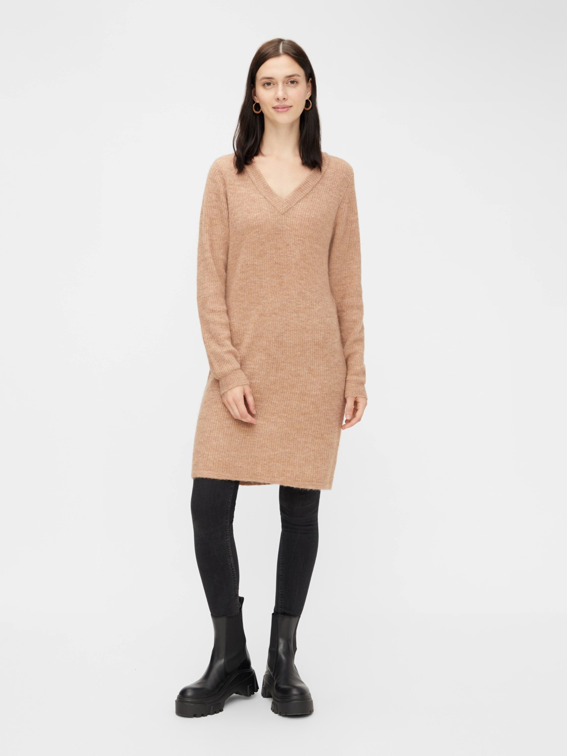 Pieces Knit Kleid Ellen
