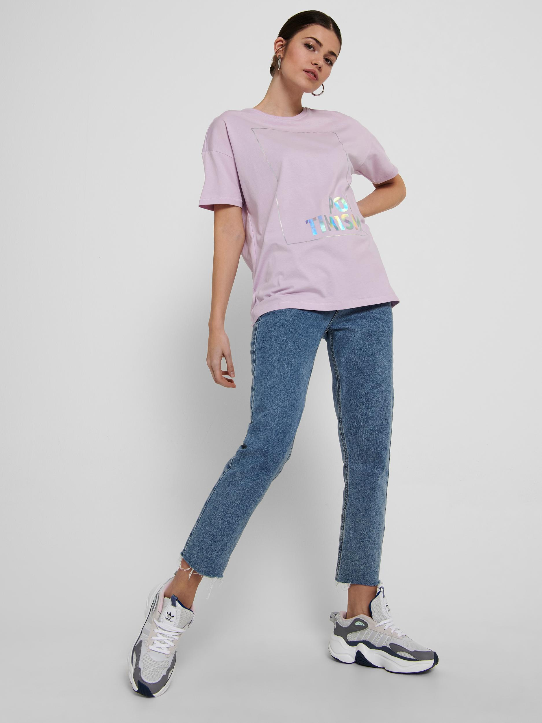 ONLY Oversize T-Shirt Fiona in 3 Farben