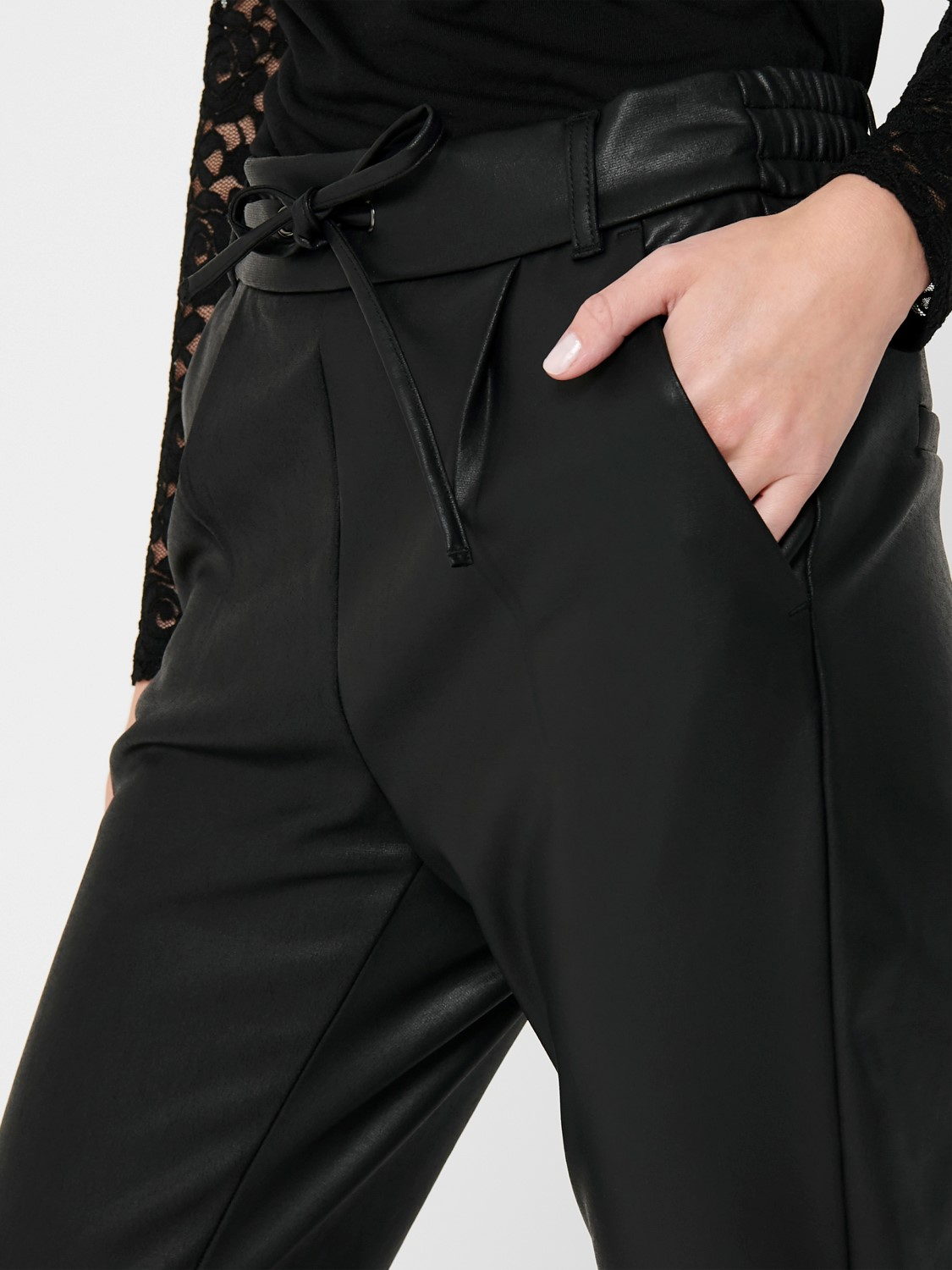 ONLY Coated Pant  Poptrash